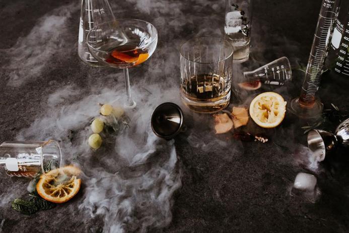Calamansi Whiskey Sour