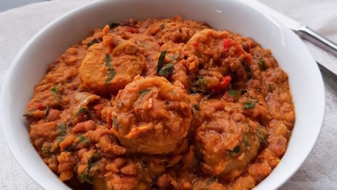 Bean and Plantain Pottage