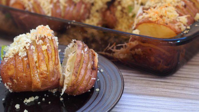 Hasselback Potatoes, Lulea
