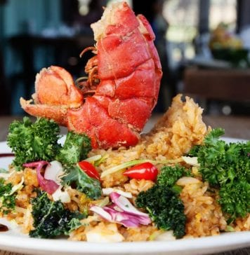 Lobster Fried Rice, Atlanta