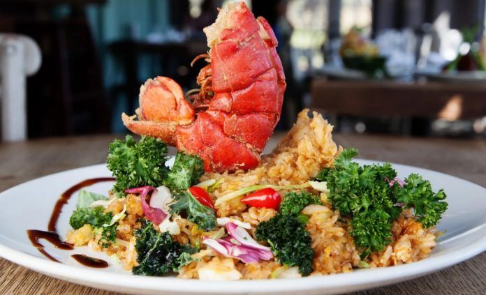 Lobster Fried Rice, Atlanta