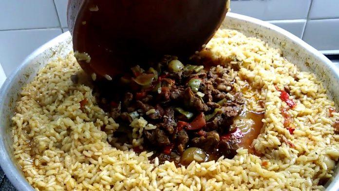 Pirinçli Kebab