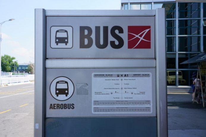 belgrad havalimanı otobüs ulaşımı