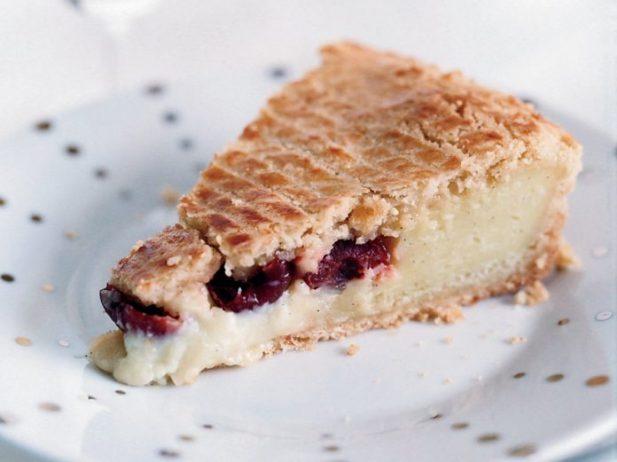 cherry gateau basque