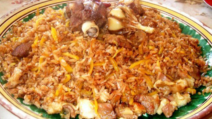 kırgız pilavı