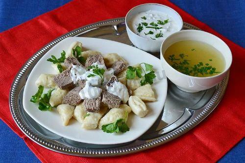 Lamb Soup with Churek
