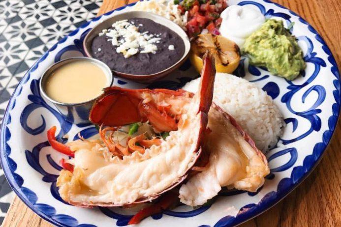 Lobster Fajitas