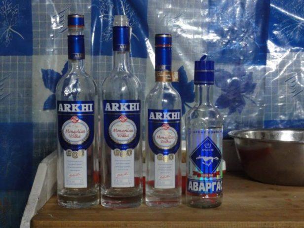 Moğol Vodkası