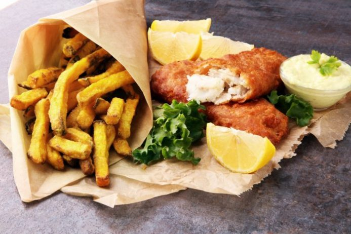 Balık ve Patates Kızartması, Southampton