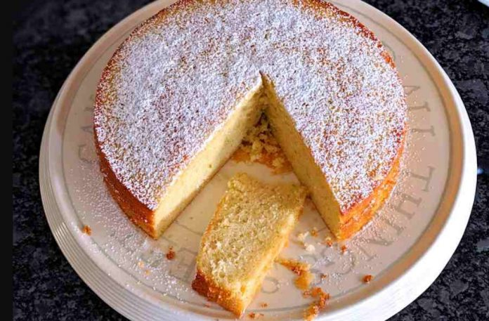Condensed Milk Cake-Yaounde