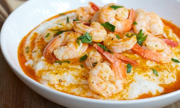 Shrimp & Grits-West Palm