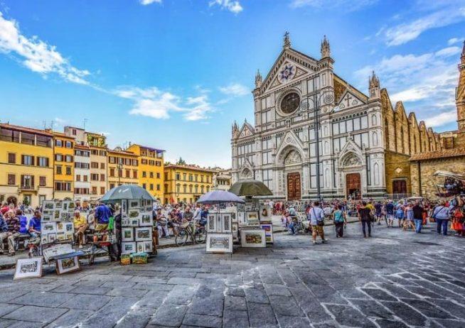 Floransa Santa Croce Bazilikası