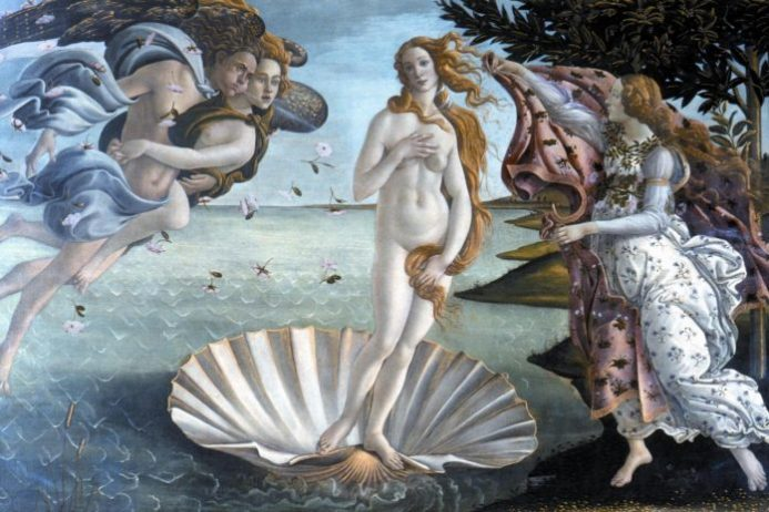 Birth of Venus - Sandro Boticelli