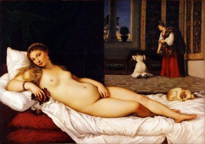 Venus Of Urbino - Titian