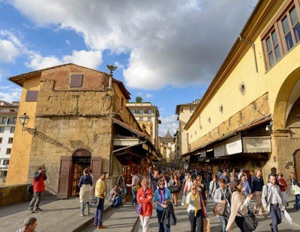 Floransa'da yürüyüş