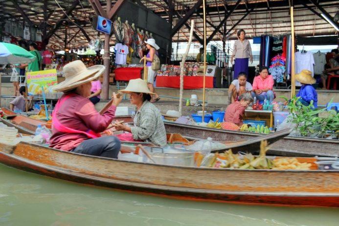 Yüzen Market, Bangkok