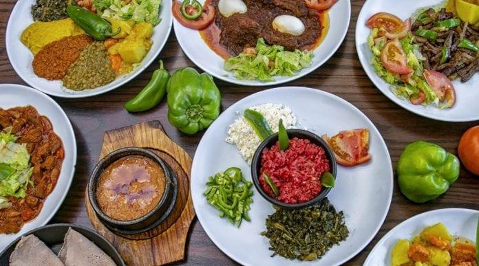 Asmara geleneksel yemekleri
