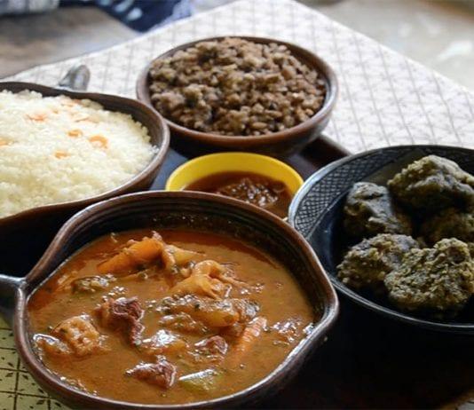 Ouagadougou yemekleri