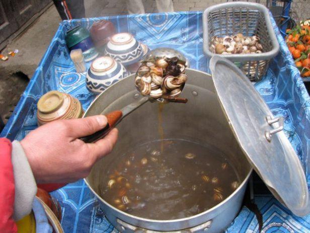 Salyangoz Çorbası