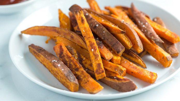 Tatlı Patates Kızartması