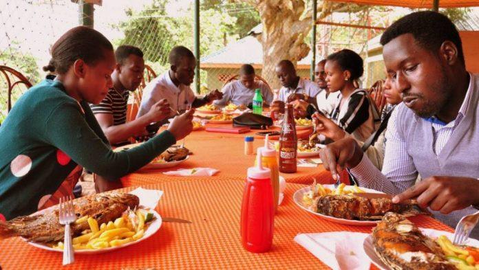 Entebbe'nin en popüler yemekleri