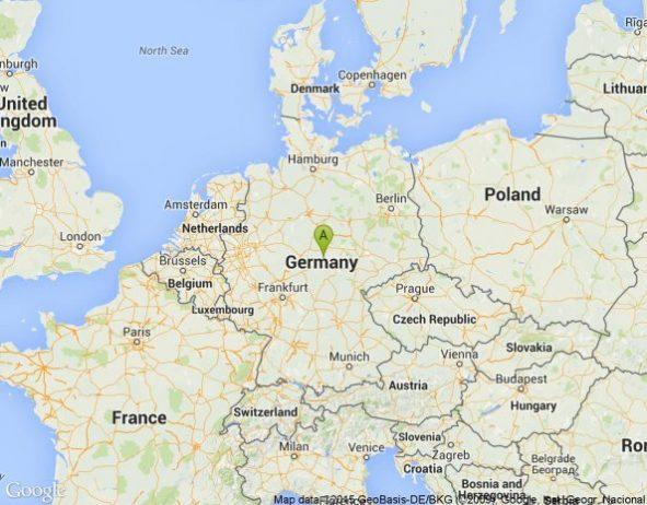Almanya Nerededir?