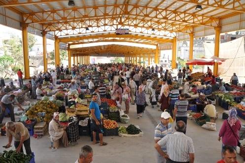 anamur pazarı