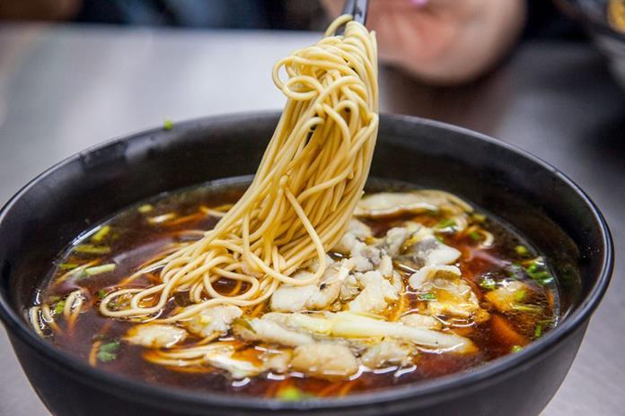Yellow Croaker Noodle Soup