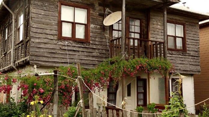 tarihi ahşap şile evleri