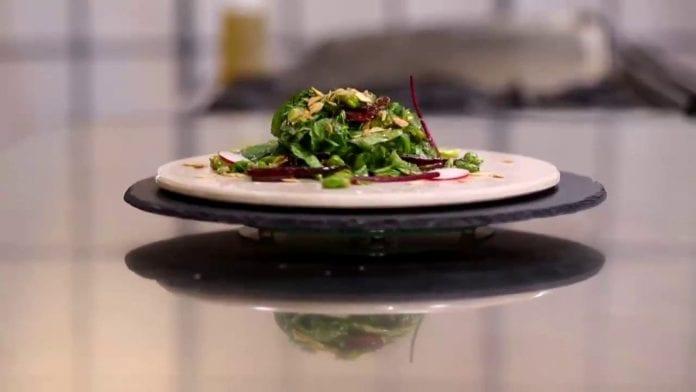 bakla yaprağı salatası