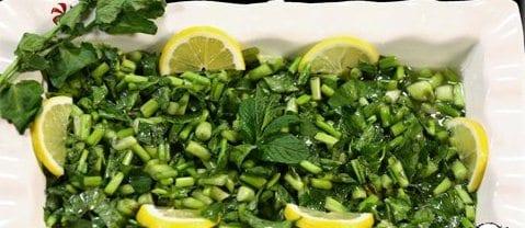 su mancarı salatası