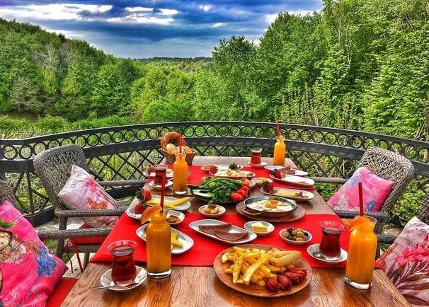 polonezköy kahvaltı serpme