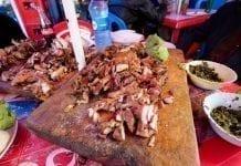 Livingstone yemekleri