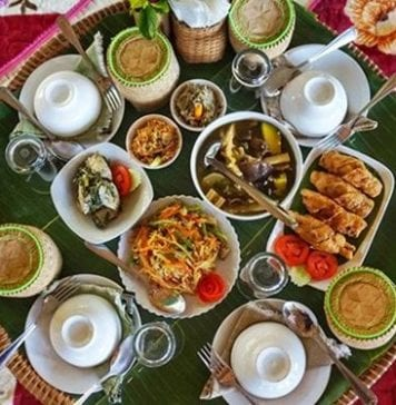 Luang Prabang yemekleri