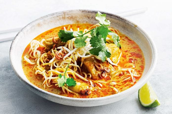 Northern Thai Noodle Soup