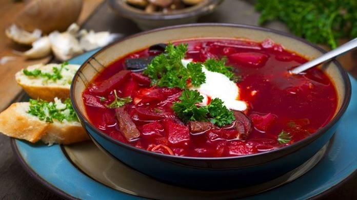 Borshch Çorbası
