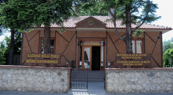 kazdağı milli parkı zeytinli tanıtım merkezi