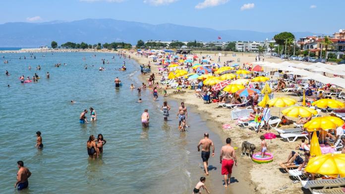 ören halk plajı