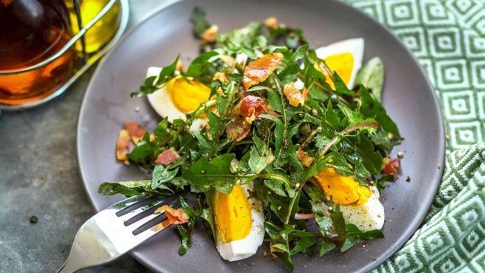 Bettsäächer Salat