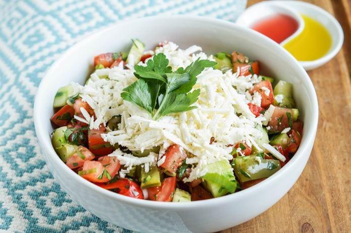Shopska Salatası