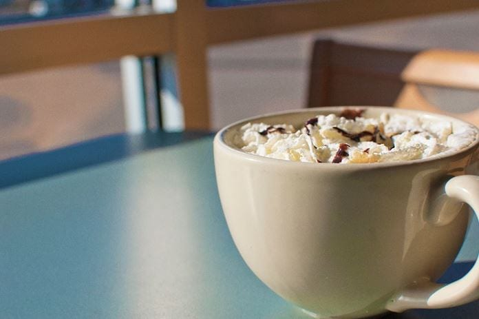 kaffee mit schlag