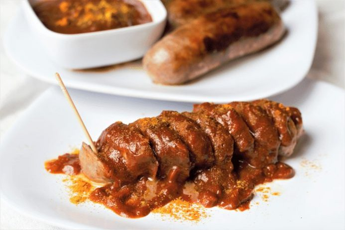 Roasted Currywurst