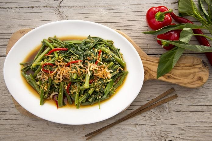 Stir-fried Morning Glory