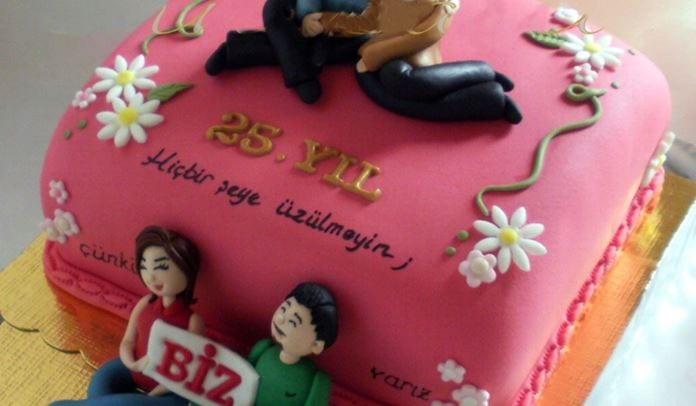 Yıl dönümü pastası
