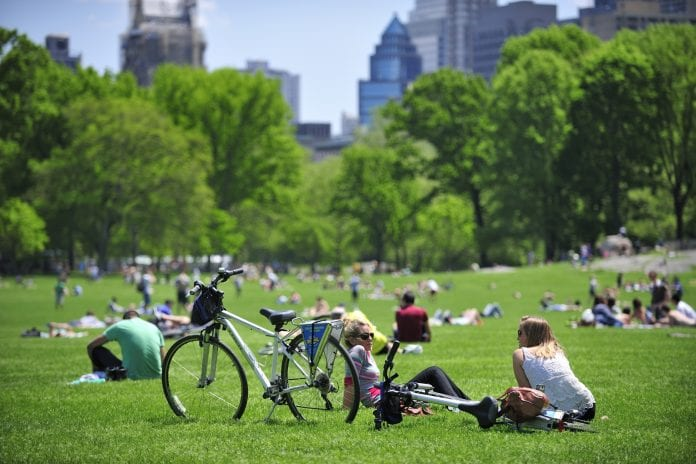 Central Park Bisiklet Turu
