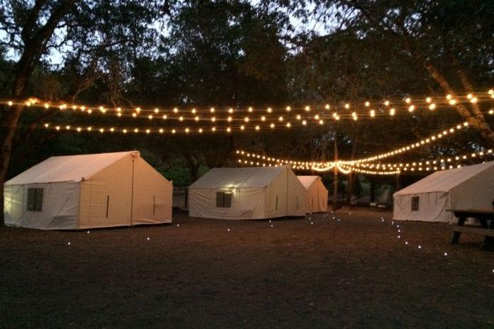 Central Park Gece Kampı