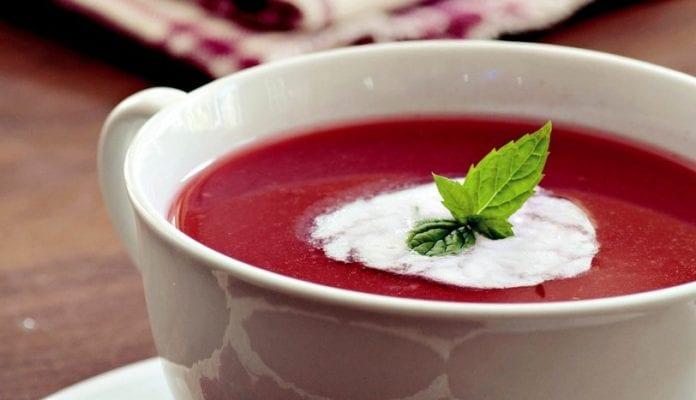 kızılcık çorbası