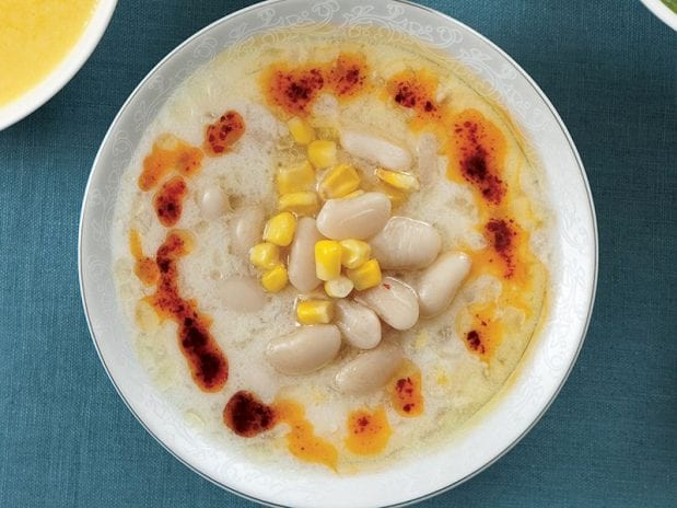 mısırlı fasulye çorbası