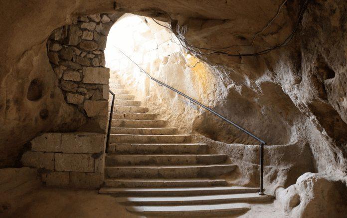 saratlı kırkgöz yeraltı şehri