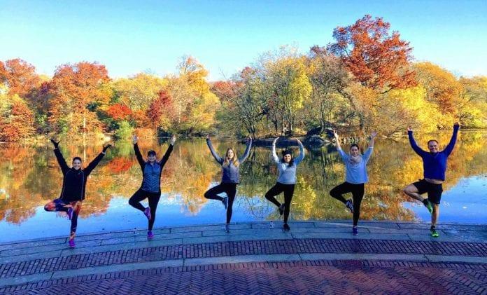 Central Park Yoga Yürüyüşleri
